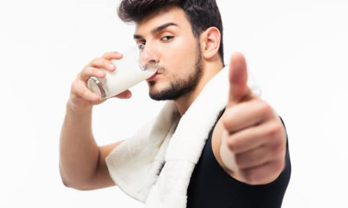 le mythe du lait qui rend fort
